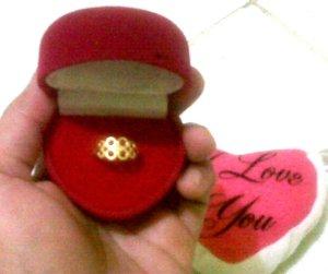 Makasih hadiahnya, Papa Kia & Icha :-)