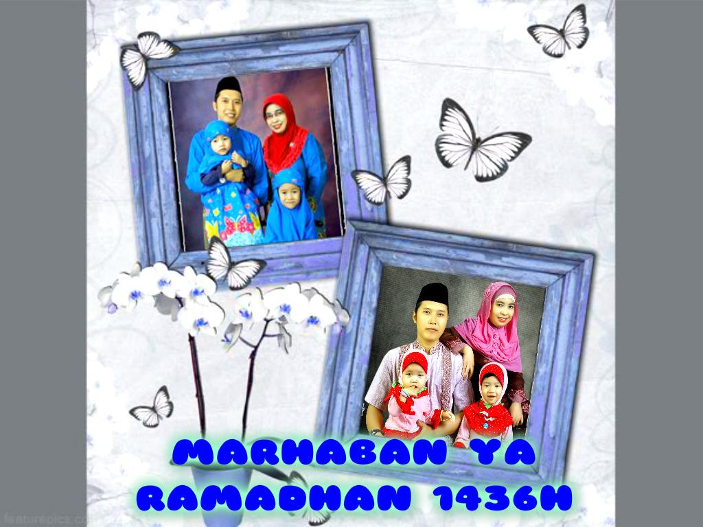 Ucapan Ramadhan 1436H Dan DP BBM Lily Mamanya Zaskia Alysha Blog